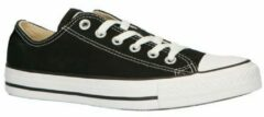 Zwarte Converse Chuck Taylor All Star Sneakers Laag Unisex - Black - Maat 45