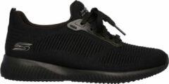 Zwarte Skechers Sneakers Dames BOBS SQUAD - PHOTO FRAME - 31362 BBK Black