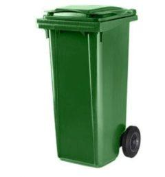 Ese Afvalcontainer / Kliko / Mini Container kunststof 120 liter groen