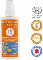 Alphanova Sun Alphanova Natuurlijke Zonnebrandspray factor 15
