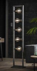 Zaloni Vloerlamp Steps 165 cm hoog in oud zilver