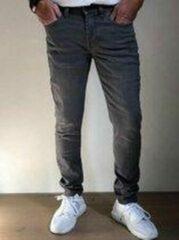 Grijze Alexander Maskovick Maskovick Heren Jeans Milano stretch SlimFit - Kleur: Grey - Maat: 34/32