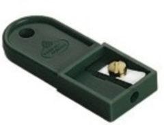 Groene Puntenslijper Faber-Castell voor potloodstiftjes voor 2,0 mm