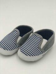 Grijze MiYuebb Baby schoenen Pasgeboren Baby Jongens/Meisjes Eerste Wandelaars Schoenen Baby Zachte Zool Anti-Slip Baby schoenen
