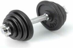 Zwarte Dumbbell 15 kg - Focus Fitness