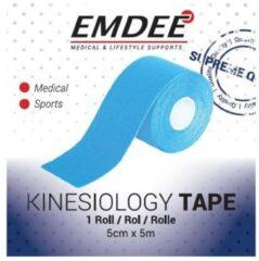 Emdee Kinesio Tape Lichtblauw - Non Cut 5 cm x 5 cm