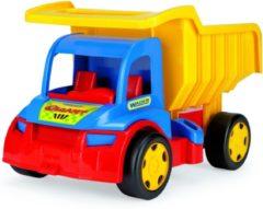 Blauwe Wader Mega grote Kiepwagen, voor kind vanaf 1 jaar, Afm. 55 x 36 x 32 Cm.
