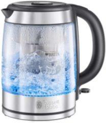 Roestvrijstalen Russell Hobbs 20760-70 Clarity BRITA waterfiltersysteem - Glazen Waterkoker
