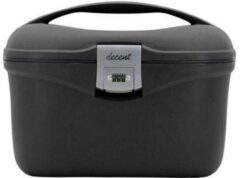 Zwarte Decent beautycase black