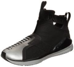 Puma Fierce Strap Metallic - Sneaker für Damen - Schwarz (puma black-puma silver)