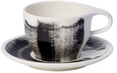 Witte VILLEROY & BOCH - Coffee Passion Awake - Ontbijtkop&schotel