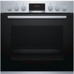 Bosch HEA513BS2 inbouw fornuisoven tbv een inductie kookplaat (Bosch NIF645CB1E)