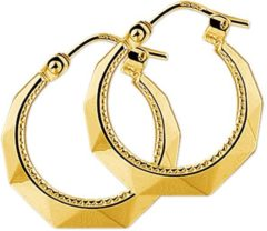 Goudkleurige The Jewelry Collection oorringen Lapide - Geelgoud (14 Krt.)