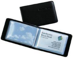 Sigel VZ170 Visitekaartmap 40 kaarten (b x h x d) 110 x 75 x 12 mm Zwart Kunststof