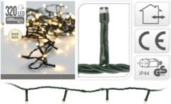 DecorativeLIghting Kerstverlichting 320 LED's 24 meter warm wit - Ledverlichting