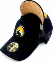 Zwarte WOED | Kurk | Trucker cap | Mountain Explorer