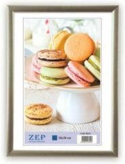 ZEP - Kunststof Fotolijst Basic Frame Zilvergrijs voor foto formaat 21x29,7 - KL11
