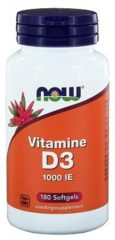 Now Foods Now Vitamine D3 1000ie Trio (3x 180sft)