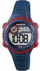 Xonix digitaal kinder horloge Blauw/Rood BAI-006