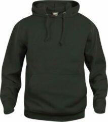 Clique Basic hoody Zwart maat XS
