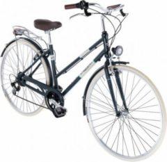 28 Zoll Damen City Fahrrad 6 Gang Alpina 500 Miglia... grau