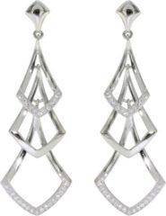 Elegance Zilveren Oorbellen met zirkonia 108.0503.00