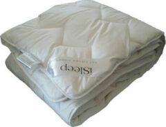 ISleep Onderdeken Katoen DeLuxe - Eenpersoons - 90x220 cm - Wit