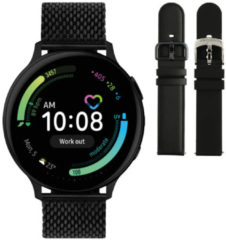 Samsung Galaxy Watch Active2 - Staal - Milanese Band - 44mm - Special Edition - Zwart