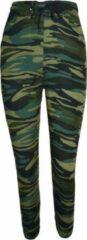 Groene Fine Woman Dames legging camouflage (2) S/M