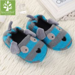 Bambino 2018 Winter 1 to 6 years old kids slippers boy and girl household cotton shoes good quality keep warm cartoon children shoes