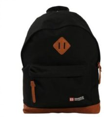 "Enrico Benetti Brasilia Rugzak 14"" black backpack"