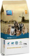 Carocroc Senior Lam&Gevogelte&Vis - Kattenvoer - 2 kg - Kattenvoer