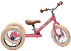 Roze Trybike Steel 2-in-1 loopfiets jaipur pink
