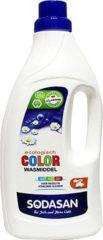 Sodasan Vloeibaar wasmiddel color lime 1500 Milliliter