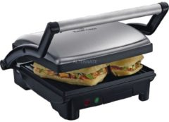 Kontaktgrill Cook@Home 3-in-1 Paninigrill Russell Hobbs Silber