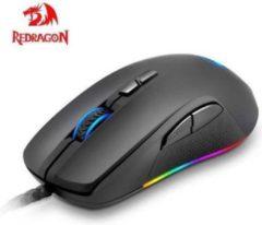 Redragon Gaming muis STORMRAGE M718| USB - Type-A Muis 10000 DPI | Zwarte Muis met RGB verlichting