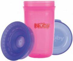 Nûby Nuby Beker 360 wonder cup roze
