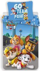 PAW Patrol Go Team Paw dekbedovertrek - Eenpersoons - 140 x 200 cm - Katoen