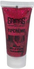 Rode Grimas Tipcreme Rood 051 - Schmink- en Makeup Glitters