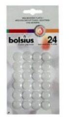 Witte Bolsius Hechtwasrondjes blister a 24st