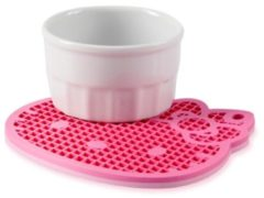 Roze Silicone Zone Hello Kitty - Pannenlap
