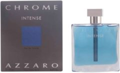 Azzaro MULTI BUNDEL 2 stuks CHROME INTENSE eau de toilette spray 100 ml