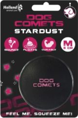 Dog Comets Bal Dog Comet Medium - Hondenspeelgoed - Zwart&Roze