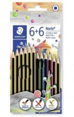 Staedtler Matita Noris 6 pezzi con 6 pastelli