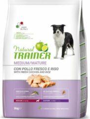 Natural trainer dog senior medium chicken 3 KG