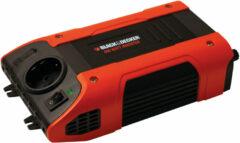 Oranje BLACK+DECKER Black&Decker BDPC400 - Omvormer 12V - 230V - Black + Decker
