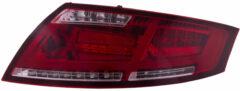 Rode Universeel Set LED Achterlichten Audi TT 2006-2013 Rood/Smoke incl. Dynamic knipperlichten