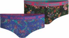 Bjorn Borg Paisley & Mystic flower meisjes hipster - 2pack - multi - maat 110