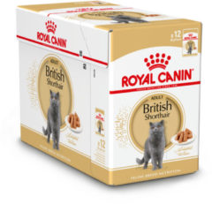 Royal Canin Fbn British Shorthair Adult Pouch - Kattenvoer - 12 x 85 g