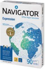 Pak gesatineerd papier Navigator Expression A4 90 gr - 500 bladen wit